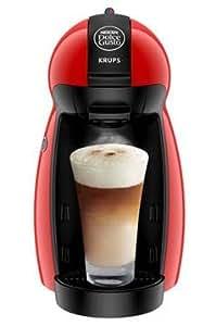 Krups KP 1006, Negro, Rojo, 1500 W, 205 x 267 x 380 mm, 5000 g, Aluminio, Acero inoxidable - Máquina de café