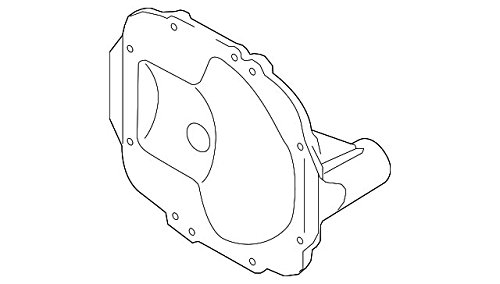 Amazon Com Kia 53075 3b300 Differential Cover Automotive