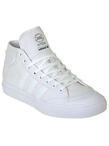 Chaussure Adidas Matchcourt Mid Blanc-Blanc-Blanc