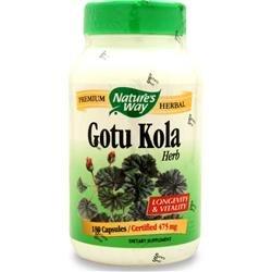 Way Gotu Kola Herb de la nature, 180 Capsules (pack de 2)