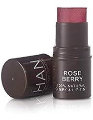 HAN Skin Care Cosmetics Natural Cheek & Lip Tint, Rose Berry