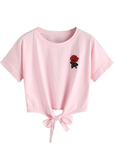 Rose Pink Shirt Top - 2