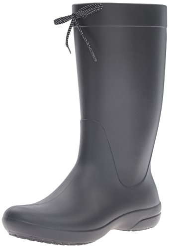 Women Black Boot Rain Crocs Freesail Black 5pqwA7T