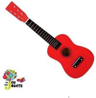 INSTRUMENTO MUSICAL infantil GUITARRA ESPAÑOLA de juguete con 6 ...
