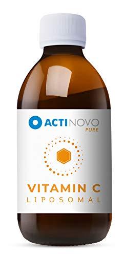 Liposomales Vitamin C   Sanddorn Pure 250 ml   hochdosiert   für dein Immunsystem   Tagesdosis 1000 mg Vitamin C   hohe Bioverfügbarkeit   flüssig   ohne Zusätze   vegan