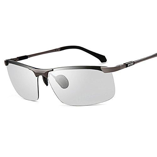 de Gafas de y Noche Gafas Conducción polarizado de B1 de Cambio WFL Hombres Gafas de Conductores de Sol de HD Mm Hombre Pesca C Día Sol Conducción Color 5ZBqqwt