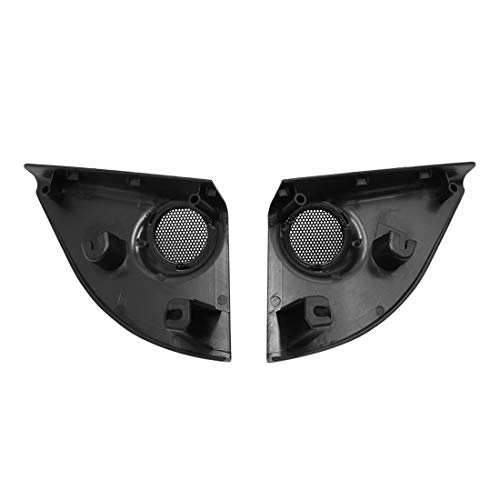 uxcell Pair Black Car Speaker Trim Cover Tweeter Protector for 2014-2017 Toyota RAV4 by uxcell (Image #2)'