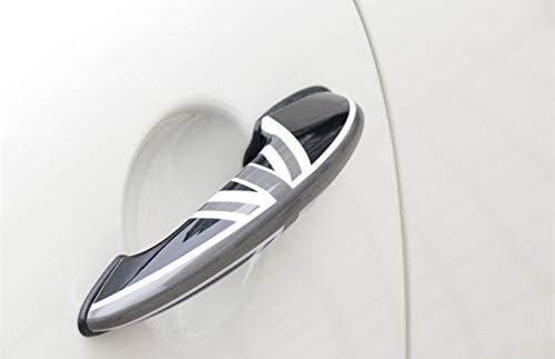 HDX Coque en ABS pour Mini Cooper One S JCW R Series R60 Countryman R61 Paceman 2010-2016 Noir//Gris