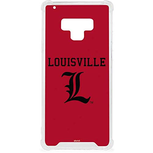 Skinit Louisville Cardinals Galaxy Note 9 Clear Case - Skinit Clear Case - Transparent Galaxy Note 9 Cover ()