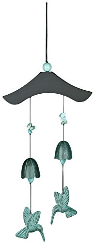 Woodstock Turquoise Bells and Birds Chime- Habitats (Woodstock Percussion Habitats)