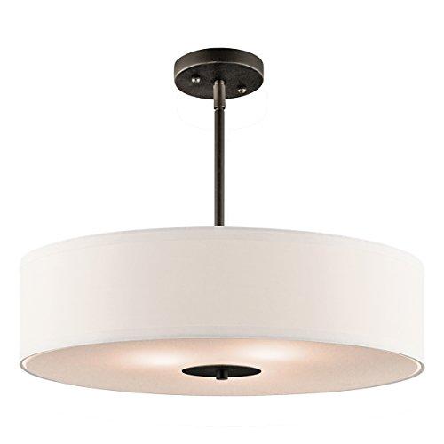 Kichler 42121OZ, Semi Flush 3 Light Pend - Olde World 20 Light Shopping Results