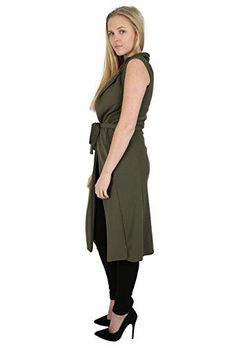 Parsa Caqui Mujer Abrigo Fashions Para qUq6A7