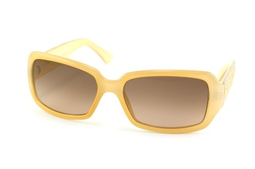 Fendi Sunglasses - FS5008 / Frame: Creamy Beige Lens: Brown - Color Fendi