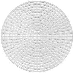 - Darice 337816 Plastic Canvas, Circle, 5.75-Inch, Clear (12-Pack)