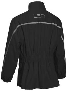 Traje de lluvia IMPERMEABLE 2 piezas Negro//Fl/úor Costuras Termoselladas 3XL LEM