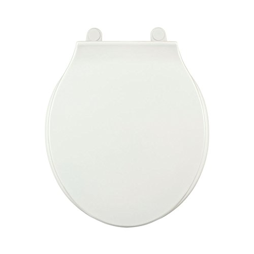Centoco 4000LC-001 Plastic Round Toilet Seat with Closed Front, White by Centoco