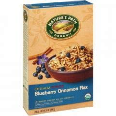 Nature's Path - Optimum Blueberry Cinnamon Cereal (12-14 oz boxes) - A fun combo of crunchy strands