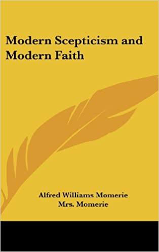 Book Modern Scepticism and Modern Faith