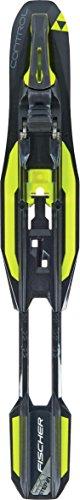 Fischer Control Step in IFP XC Ski Bindings Black/Yellow