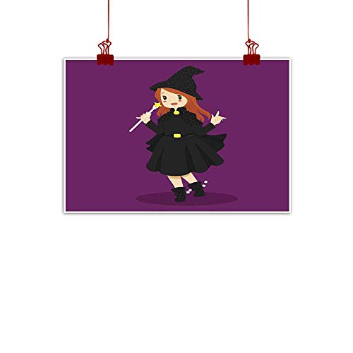 duommhome Modern Frameless Painting Halloween Witch Costume Modern Frameless Painting 35