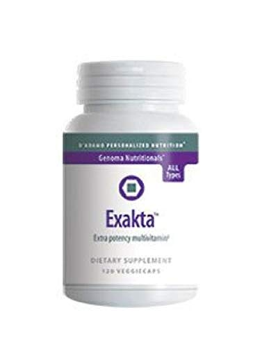 Exakta 120 Vegetarian Capsules by D Adamo Personalized Nutrition