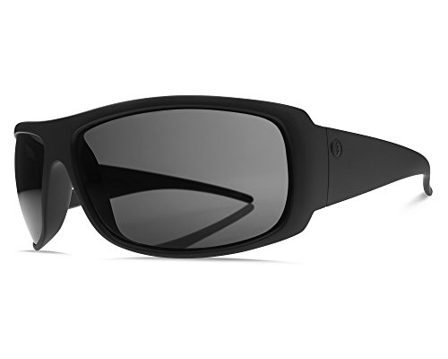 Electric Charge XL Sunglasses - Matte Black / Melanin Grey Lens