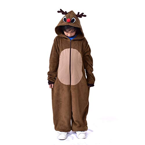 LIGHSALT Reindeer Costumes Kids Unisex Cosplay Animal