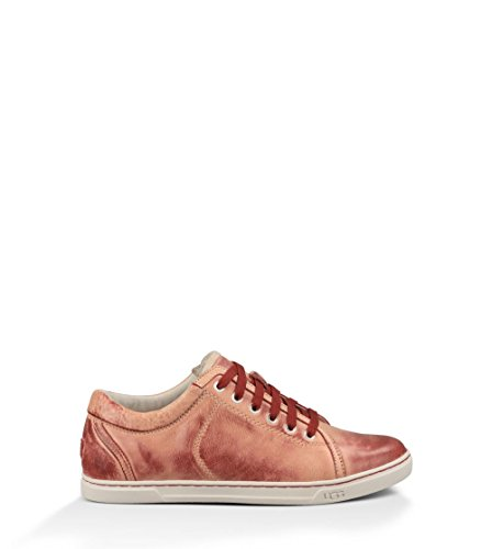 UGG Women's Tomi Tropical Sunset Leather Sneaker 11 B (M)