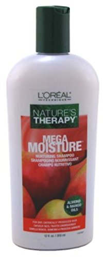 Loreal Natures Therapy Shampoo Mega Moisture 12 Ounce (354ml) (3 Pack)