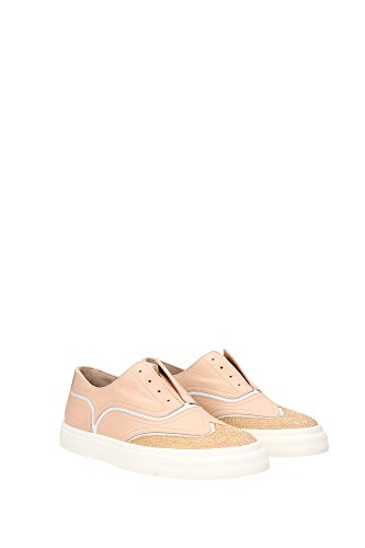Zanotti EU Giuseppe RS6078LONDONSHELL Lacets Femme Chaussures Rose à OFfx4vq