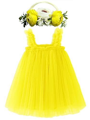 BGFKS Layered Tulle Tutu Dress for Toddler