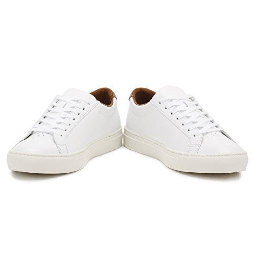 Lacoste Heren Wit / Bruin L.12.12 317 4 Sneakers