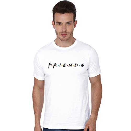 LookMark Mens Round Neck T-Shirt (TS 02 White)
