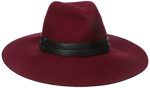 San Diego Hat Company Womens Floppy With Pinch Crown And Double Pu Band  Garnet  One Size