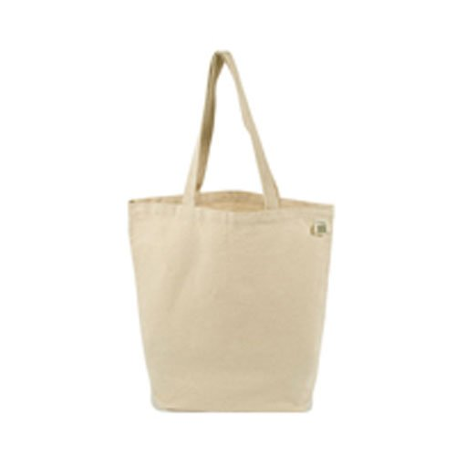 Eco-Bags Products Recycled Cotton Tote, Natural