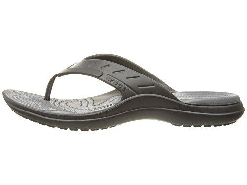 Noir Taille Adulte Crocs Flip Modi Sport Tongs Mixte Graphite Unique wHB8Uq