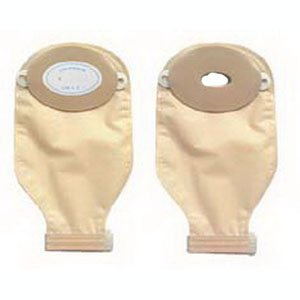 Convex Oval A Drainable Pouch w/Barrier [Box of 10] ()