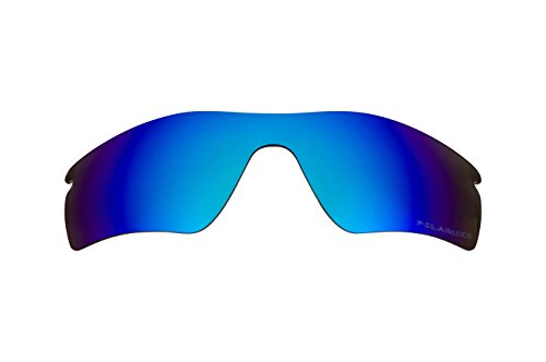 Replacement Lenses Compatible with OAKLEY RADAR PATH Polarized Ice Blue Mirror