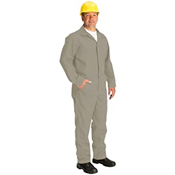 5-4 to 5-7 Short//Size 52 4.5 oz TOPPS SAFETY CO07-5550-Short//52 CO07-5550 NOMEX Coverall Tan