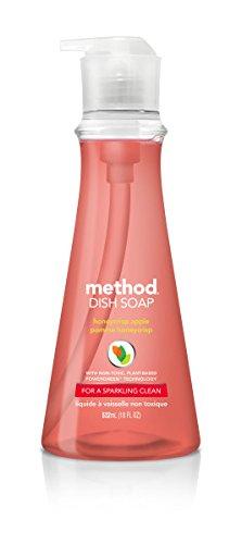 Method Dish Soap Pump - 18 oz - Honey Crisp Apple