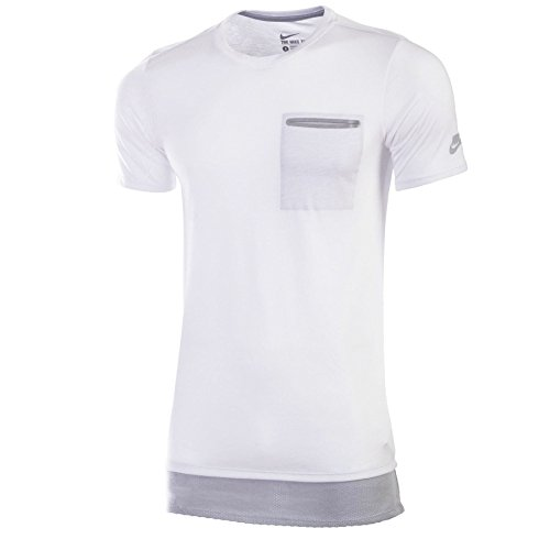 e6d25645cb Nike Men's QT S+ Premium Essential Tee White T-shirt (Large) - Buy Online  in Oman.   Apparel Products in Oman - See Prices, Reviews and Free Delivery  in ...