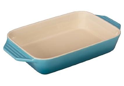 Le Creuset Stoneware 1.8 qt. [10.5 x 7] Rectangular Dish - Oyster Le Creuset of America PG1047S-267F