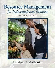 Resource Management for Individuals and Families 4th (forth) edition Text Only