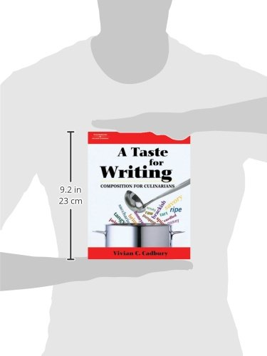 A Taste for Writing: Composition for Culinarians (Applied English) by Brand: Cengage Learning