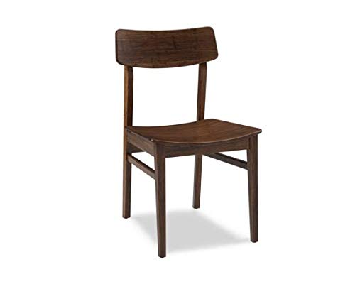 Solid Bamboo Guest or Conference Chair with Exotic Caramelized Finish (Set of 2)