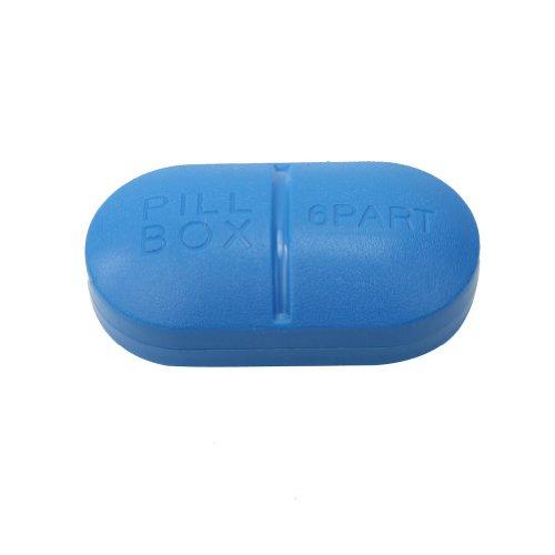 Voyage Portable 6-Slot Titulaire Pill Box Case Medical médecine stockage de drogue nouvelle