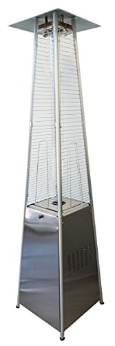 45000 Btu Electronic Ignition - Heat Storm Outdoor Propane Patio and Deck Heater - 89 Inches Tall - 40,000 BTU