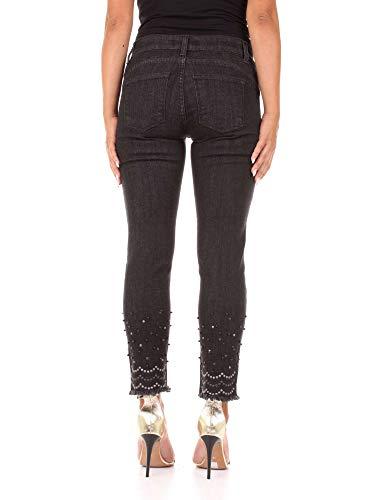 Negro isotta Pantalones Ferrone Mujer Sandro C21 Vaqueros Denim OwUEqtW0Sp
