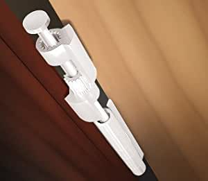 Amazon Com Door Saver Iii Hinge Pin Door Stop In White