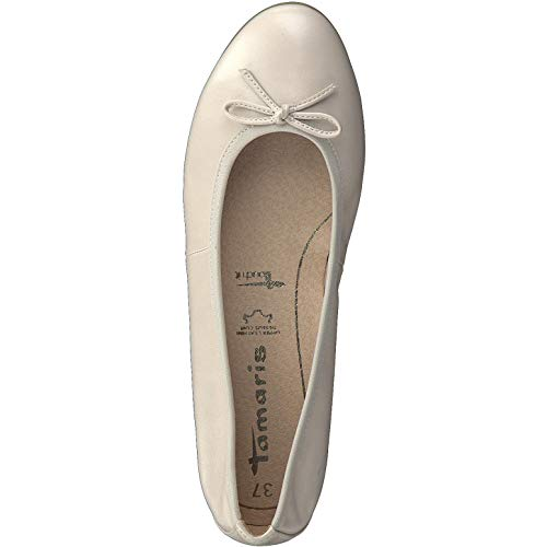 1 22116 1 Pearl Classiche 22 ballerina Donna touch Ballerine Tamaris it scarpe ballerine Estive classico elegante Ewdq1E